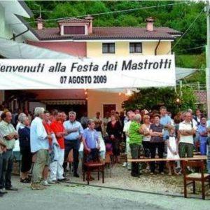 """Giornale di Vicenza – """"Il ritrovo per oltre 400 alla festa dei Mastrotti"""""""