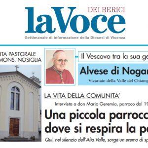 """Voce dei Berici – """"Il vescovo tra la sua gente, visita pastorale ad Alvese"""""""