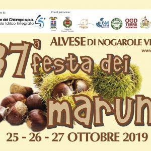 """37^ """"Festa dei Maruni"""" – il programma completo e il nuovo libretto!"""