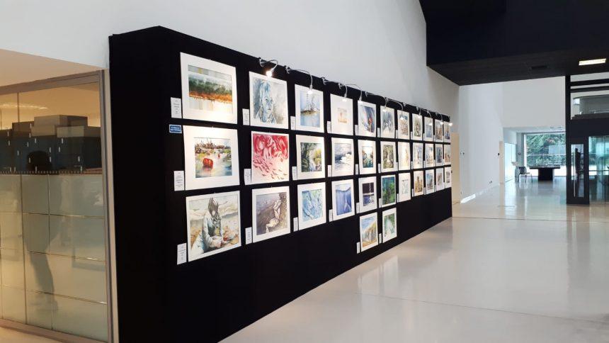 Da oggi al 27 novembre la mostra collettiva del concorso acquerello è visitabile presso la sede di Acque del Chiampo