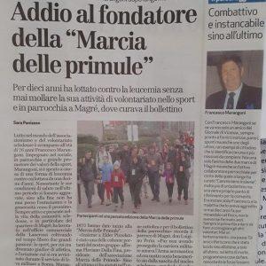 Ciao, Francesco!