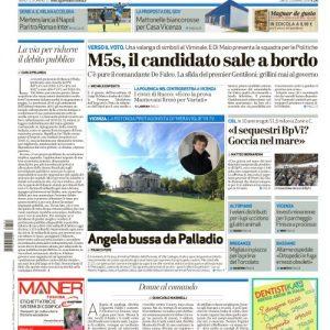 Dicono di Noi – Il Giornale di Vicenza Esempio Base