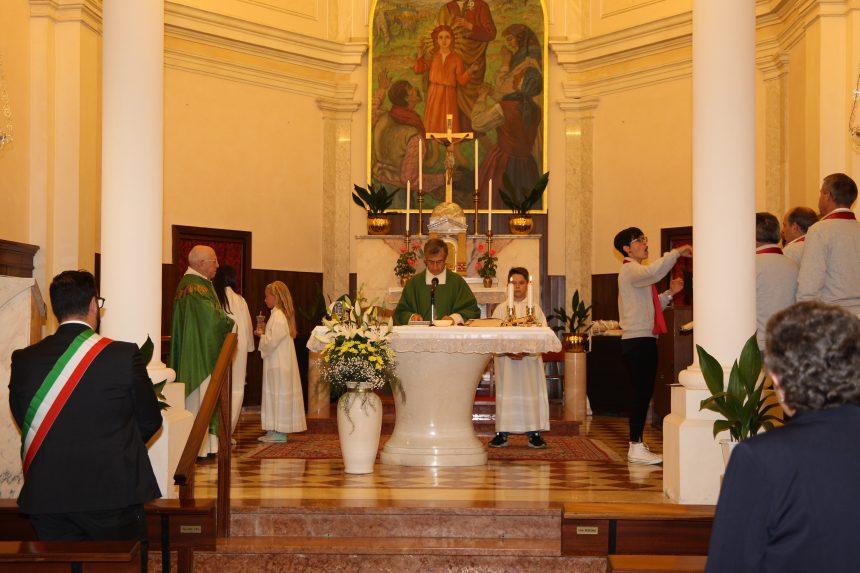 La prima Messa del nuovo Parroco DON VITTORIO ad Alvese: inizia l'Unità pastorale