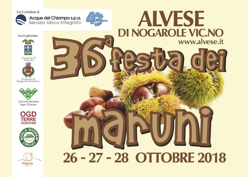 """""""Festa dei Maruni"""": in anteprima per voi il PROGRAMMA 2018!"""