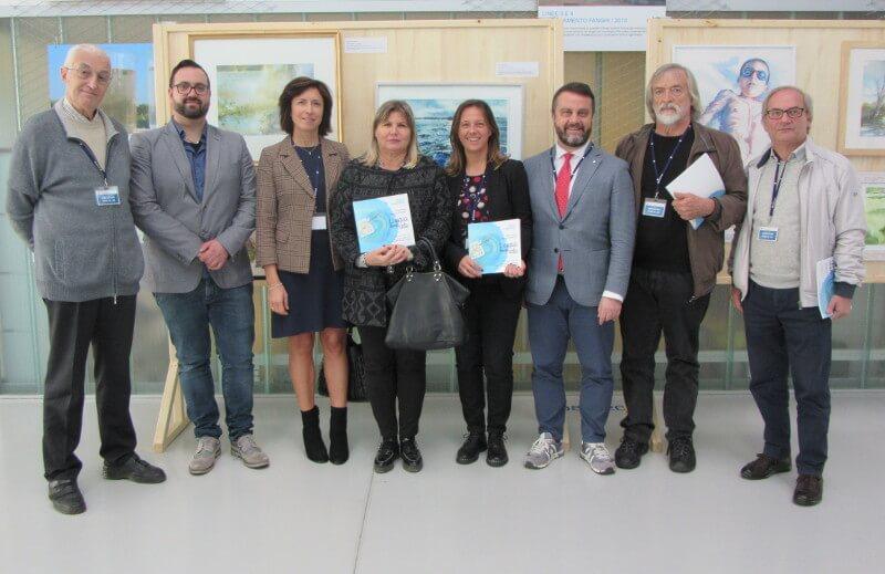 """Presentazione della MOSTRA MIGLIORI ACQUERELLI del Concorso """"L'acqua diventa arte"""" in sede Acque del Chiampo"""