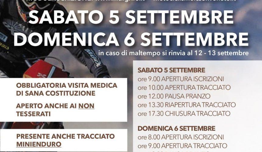"""2° """"Nogarole Enduro"""" 5-6 settembre ad Alvese"""